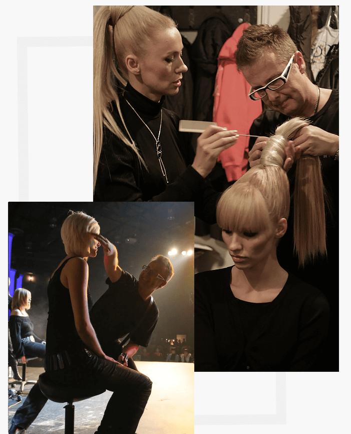 Strzyżenie Farbowanie Modelowanie Włosów Salon Fryzjerski łódź